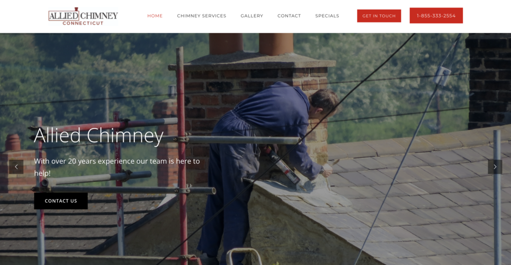 Allied Chimney launches a new website